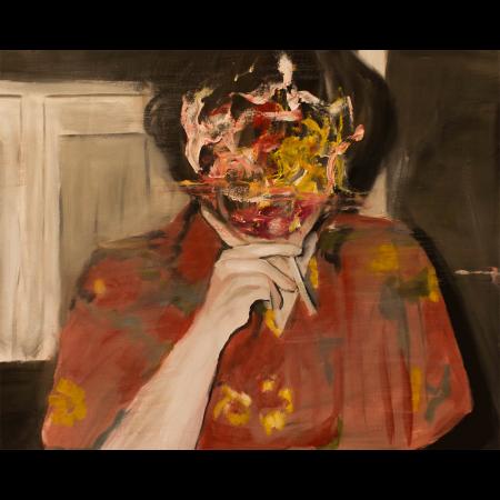 acercamiento n. 03. Oil on canvas70x100cm