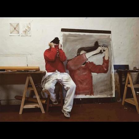 Autorretrato n. 01. 2020. Oil on canvas160x130cm