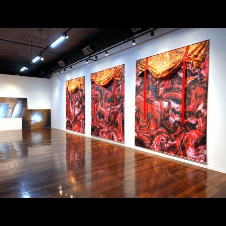 DHARMAPALA SERIES 2019, Installation photographs, Centro Cultural Correios RJ, Rio de Janeiro Brazil