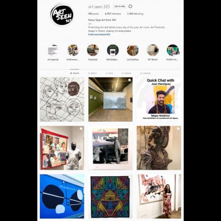 @art.seen.365 Instagram Home