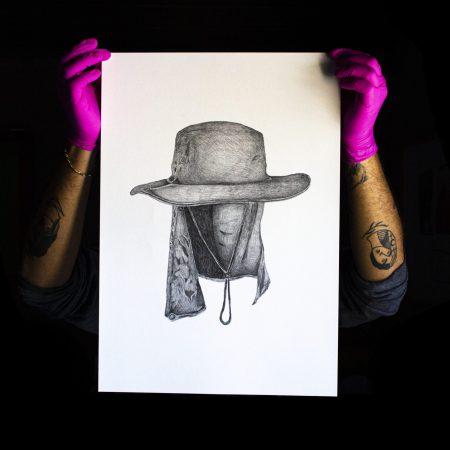 Sem Título, 2020. Da série ''Retratos', Grafite sobre papel, 50 x 35 cm cada.